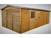 Garage 20ft x 10ft, Heavy Duty 19 mm. Unused in a pallet, Surplus to requirements.