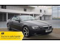 2008 BMW 6 Series 3.0 630i Sport 2dr Convertible Petrol Automatic