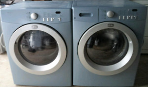 FRIGIDAIRE FRONT-LOAD WASHER AND DRYER FOR SALE!