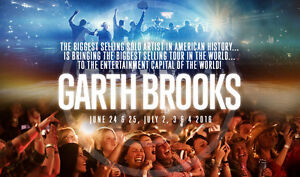 Garth Brooks in Vegas!  July 3 at the new T-Mobile Arena