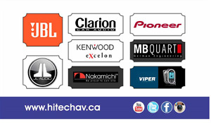 CAR AUDIO Installation, Stereos, Navigations, Headrest Screens