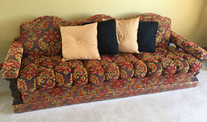 Vintage sofa set mint condition only used for Sunday naps