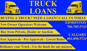 TRUCK AND TRAILER FINANCING MADE EASY