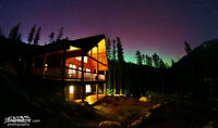 Panorama Mtn Resort, BC 52 Acres +  2 Cedar Log Chalets