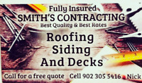 Smith's Contracting- roofing