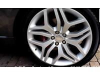 Genuine landrover style 17 alloys upgrades on autobiography 22 inch range rover sport