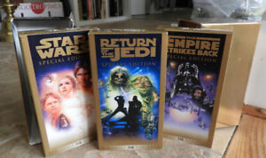Special Edition Star Wars Trilogy VHS 3pc set