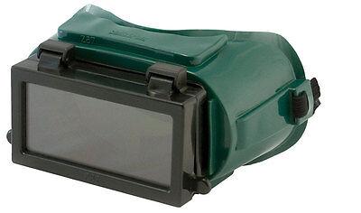 Forney Industries Welding Welding Goggles Black Lens Blackgreen Frame Bulk