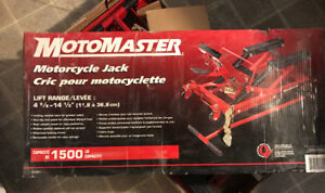 Motorcycle jack brand new