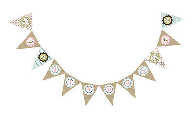 Woodland Owl Theme PERSONALIZED Baby Shower Pennant - Owl Baby Shower Banner