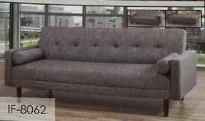 Modern Sofa Bed with 2 Pillows Included