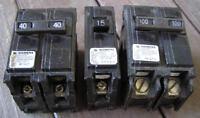 Siemens Circuit Breakers, 100 amps, 40 amps & 15 amps Oshawa / Durham Region Toronto (GTA) Preview
