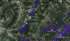 Placer Gold Claims In Kootenays, Clearance 1/2 Price