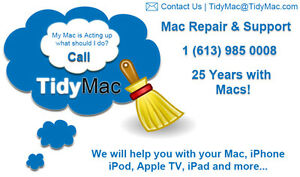 Mac and iPhone support - Tidymac.com
