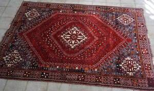Tribal Handmade Persian Rug-176x253cm Shiraz Qashqai Collectable Hornsby Hornsby Area Preview