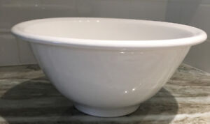 FS: Large Porcelain Bowl Made in Italy - Only used for staging