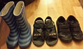 Boys size 10 shoes bundle 2pounds