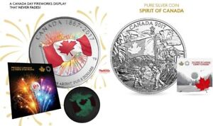 2017 Silver Proudly Canadian & The Spirit Of Canada Coin Set