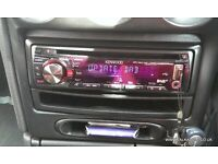 Kenwood KDC-4551UB, iPod Direct, Aux, USB, Removable Front, car stereo cd mp3 player 50w x 4