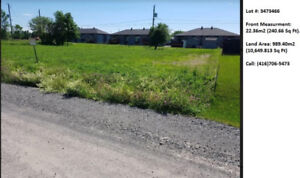 Land for sale in Salaberry- de- Vallyfield