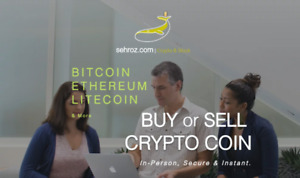 $ BITCOIN + ETHEREUM + LITECOIN    BUY or SELL IN-PERSON
