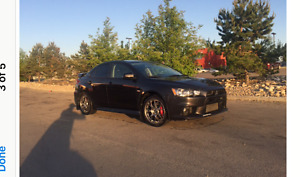 2012 Mitsubishi Evolution GSR Sedan
