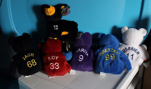 Hockey ,Baseball  Bammers and planet plush with gretzky