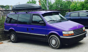 1992 Plymouth Grand Voyager Custom Camper
