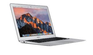 MacBook Air, 13 inch, 1.8 GHz Intel i5, 8GB RAM, 256 GB SSD