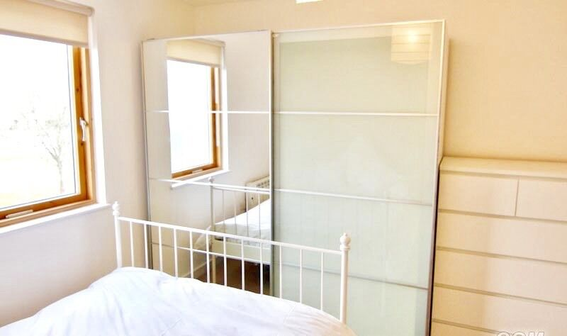 Ikea Pax Wardrobe With Half Mirror Half Frosted Glass