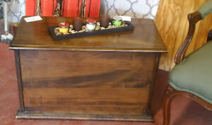 Petite Vintage Storage Bench, Accent and Side Tables
