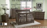 SUMMER SPECIALS ON PALI-DESIGN FURNITURE CONVERTIBLE BABY CRIBS!