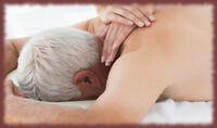 Massage de détente pour retraités