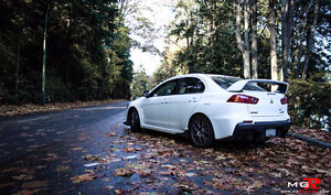 Looking for EVO X shell, collision car etc