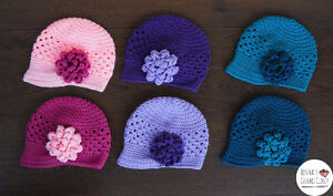 Crochet hats for Kids and Adults