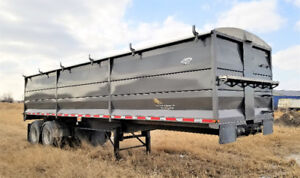 End Dump Grain Trailer- used