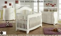 SPECIALS ON PALI-DESIGN FURNITURE CONVERTIBLE BABY CRIBS!