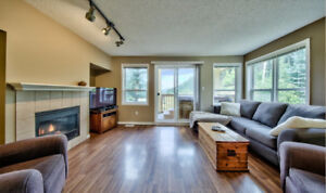 Sun Peaks 2 Bed Townhouse fully furnished for long term lease