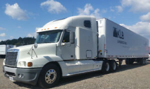 2007 Freightliner and/or 2010 Dry Van for Sale