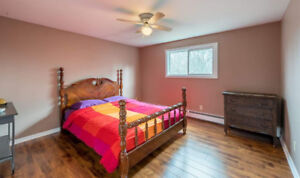 Wooden Queen / Double Bed Headboard and Footboard