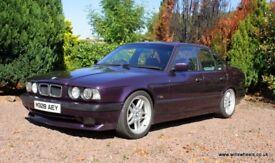 1994 BMW 525i Sport Rare Daytona Violet Black Half Leather M Parallel Wheels