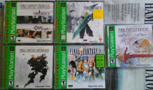 PlayStation 1 games - Final Fantasy Collection