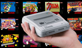 Games for your Nintendo SNES mini classic console