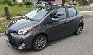 LEASE TAKEOVER-2015 Toyota Yaris SE Low Mileage $339.17 tax in.