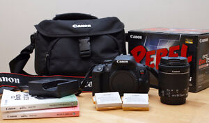 Canon T5i plus accessories