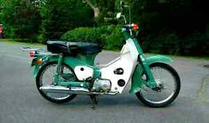 1971 HONDA C50 (plaquer scooter antique)