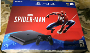 $390!!NEW PS4 SPIDERMAN BDL ,NEVER OPENED!!!