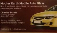 Mobile windshield and auto repair