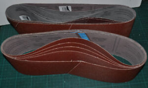 4x36 Belt Sander belts x10, 40 grit, new