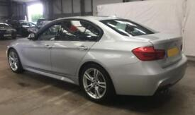 2016 SILVER BMW 330D 3.0 M SPORT DIESEL AUTO 4DR SALOON CAR FINANCE FR £75 PW